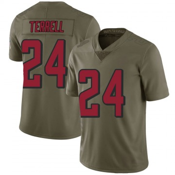 Youth A.J. Terrell Atlanta Falcons Limited Green 2017 Salute to Service Jersey
