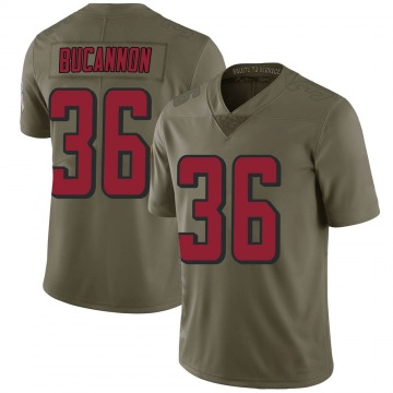 Youth Deone Bucannon Atlanta Falcons Limited Green 2017 Salute to Service Jersey